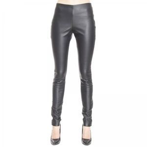 NWT Missoni Vegan Black Leather Pants size 12
